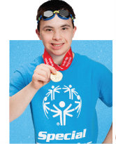 $25 - Cost of ten Special Olympics gold medals